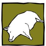 Pictogramm Tierkadaver